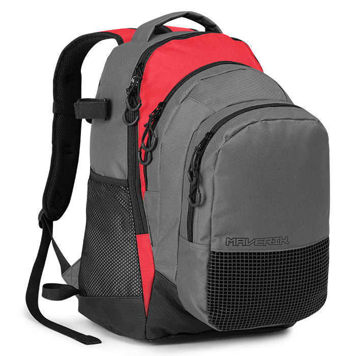 Maverik Storm Backpack Red Backpacks
