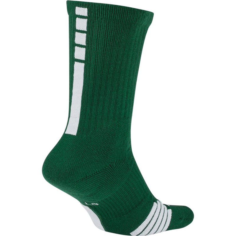 Nike Elite Crew Sock - Green/White