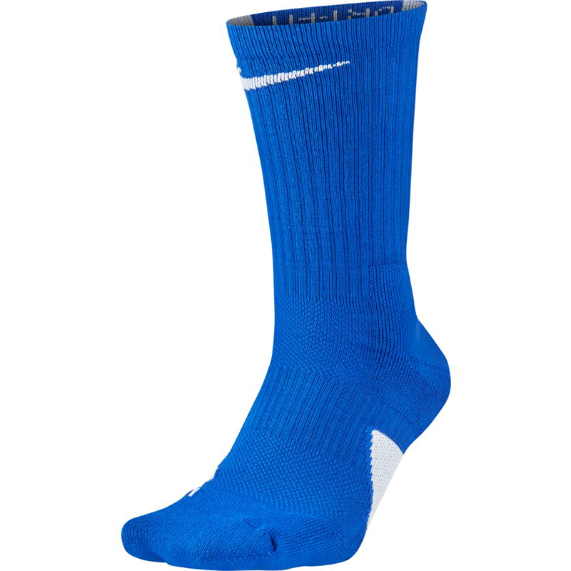 Nike Elite Crew Sock - Royal/White