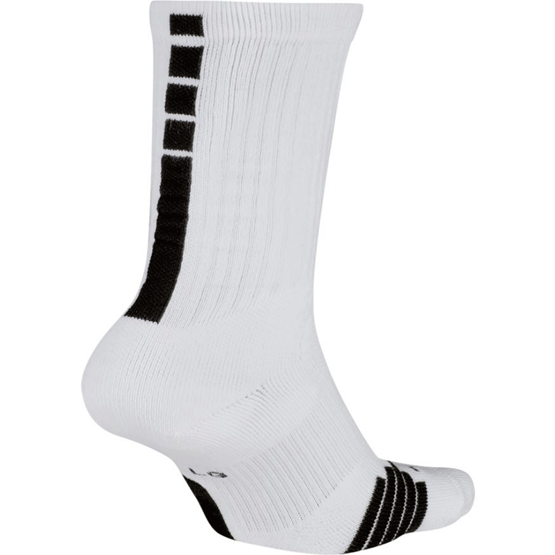 Nike Elite Crew Sock - White/Black