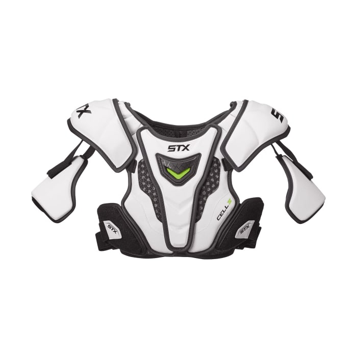 Stx Cell Iv Shoulder Pads Large / White