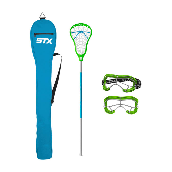Stx Exult 200 Starter Pack Lizard/electric Women's Complete Sticks