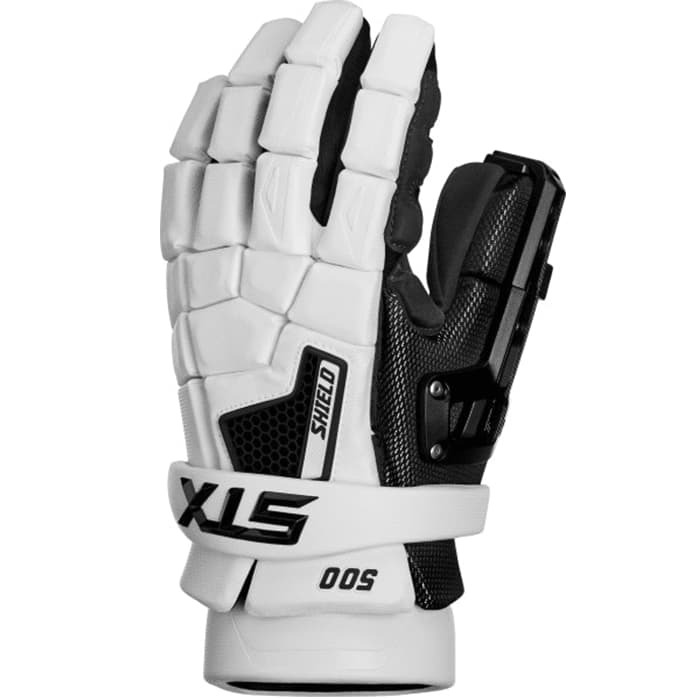 Stx Shield 500 Goalie Gloves 13-Large / White