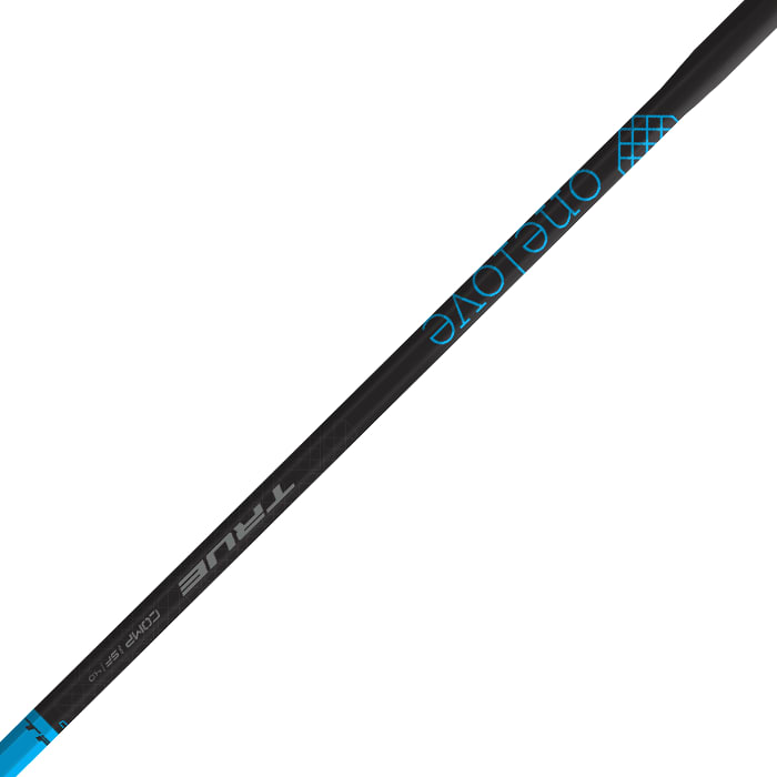 True  Comp 4.0 One Love Shaft - Black -  True Lacrosse