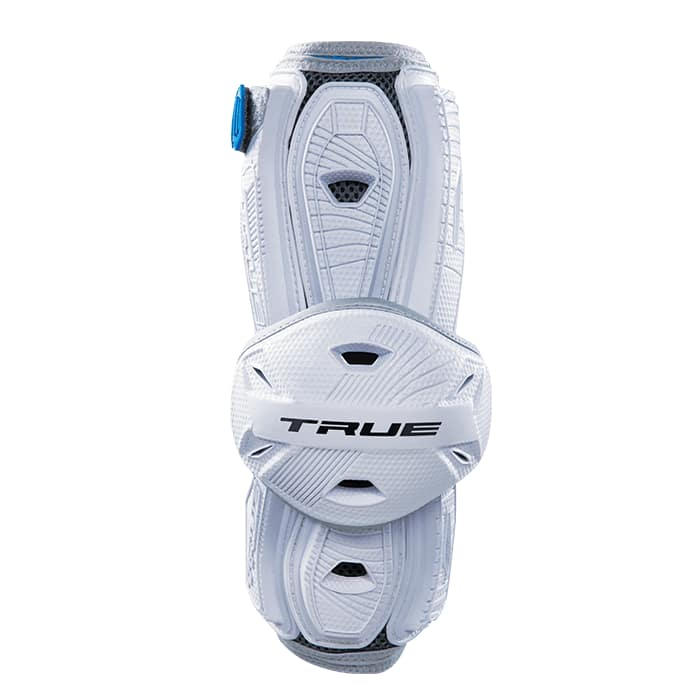 True Frequency Arm Guard Small / White Lacrosse Pads