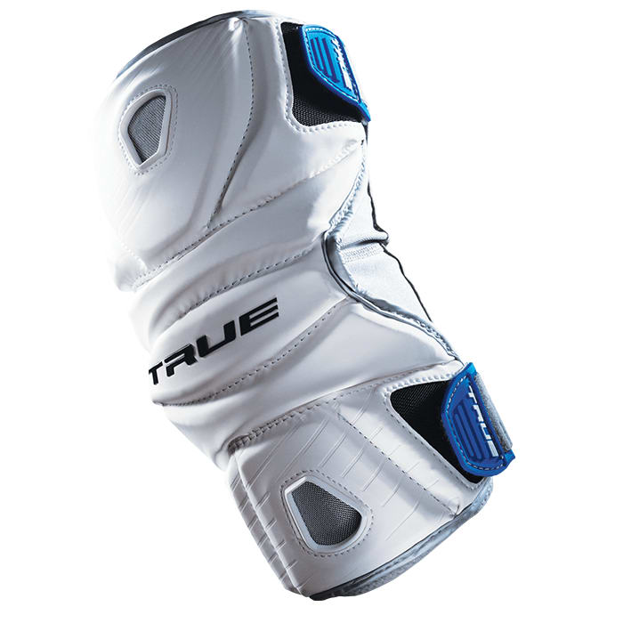True Frequency Arm Pad Small / White Lacrosse Pads