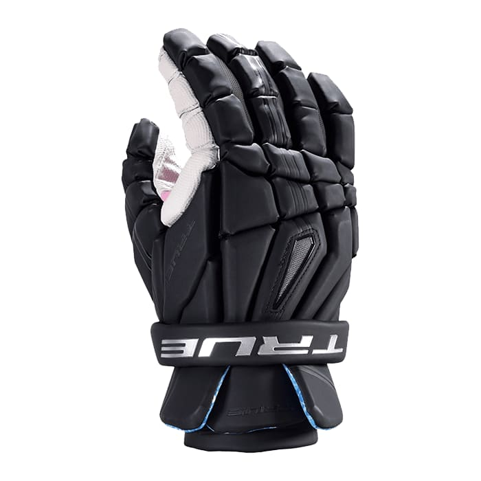 True Frequency Driver Face-Off Right Hand Glove 12-Medium / Black Lacrosse Gloves