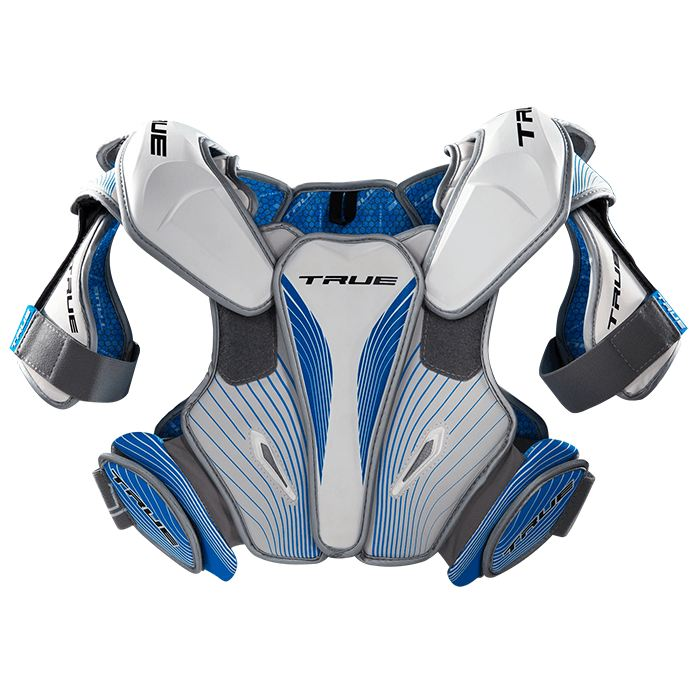 True Frequency Shoulder Pad Small / White Pads