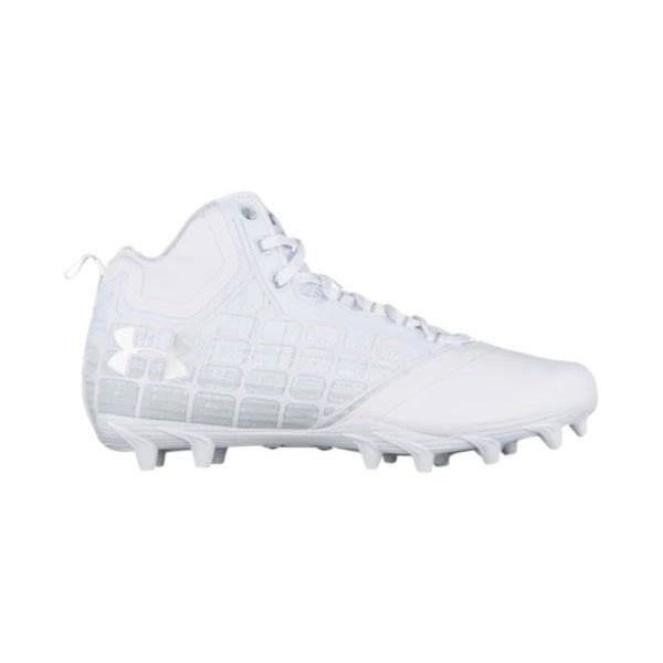 Under Armour Banshee Cleat 6.5 / White Cleats