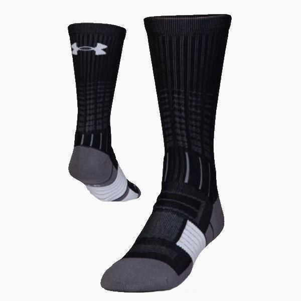 Under Armour Unrivaled Crew Sock Medium / Black/white