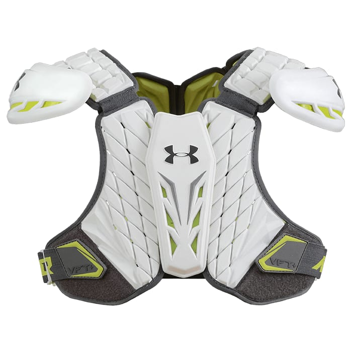 Under Armour Vft + Shoulder Pad Large / White Pads