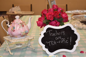 Teacher Appreciation Afternoon Tea Party
