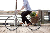 Woven Pannier Bicycle Basket with hooks - ALERT - low stock