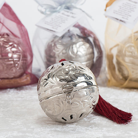The Silver Friendship Ball in Shimmering Bag - Christmas Gift BEST SELLER!