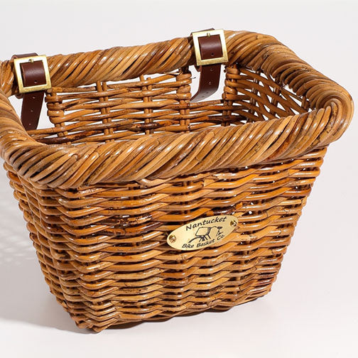 Summer's Day Rectangle Adult Bicycle Basket