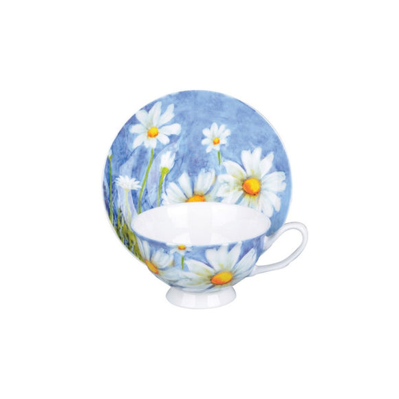 Daisy Teacups - set of 4