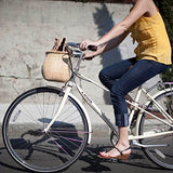 The Original Lightship Adult Bicycle Basket - Natural Finish - Temporarily Sold Out
