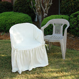 Resin Patio Chair Slipcovers - sold out- email us to be on the waitlist