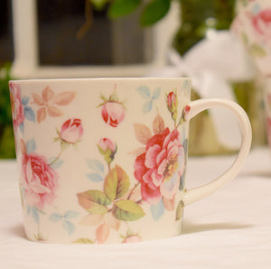 English Roses Tea or Coffee Mug - Summer Inventory Clearance Sale!
