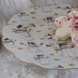 Snowman Dessert Plates - set of four
