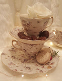 Snowman Teacups - set of four
