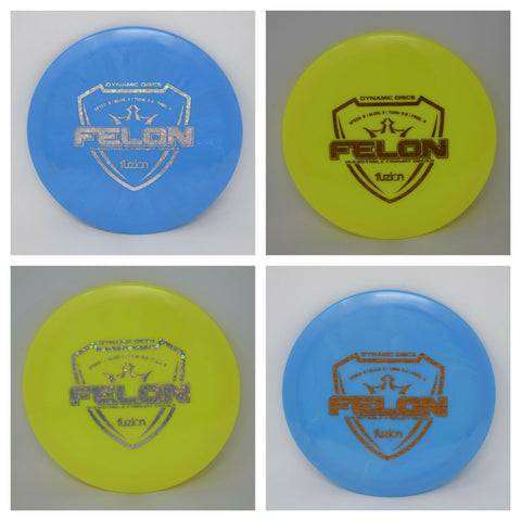 Dynamic Discs - FUZION FELON **Pick WEIGHT & COLOR**