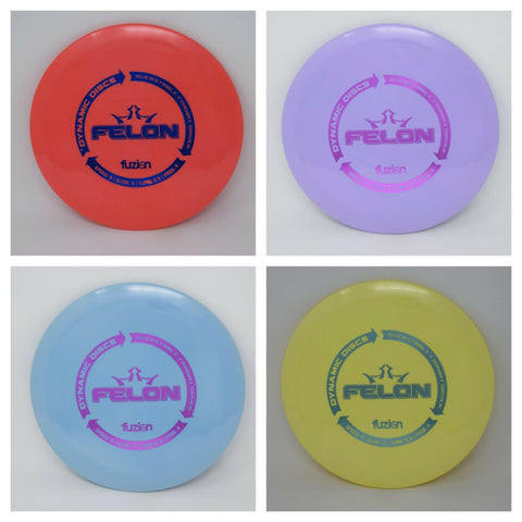 Dynamic Discs - BIOFUZION FELON **Pick WEIGHT & COLOR**