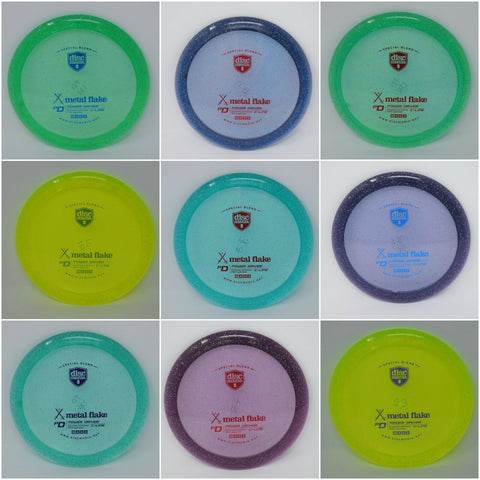 DISCMANIA Disc Golf C-LINE METAL FLAKE PD NEW **Pick your WEIGHT and COLOR**