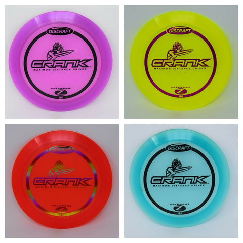 DISCRAFT Disc Golf Z CRANK  NEW   *pick weight/color*