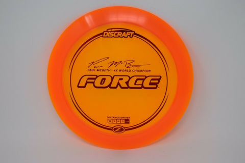DISCRAFT Disc Golf Z FORCE  NEW   *pick weight/color*
