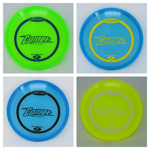 DISCRAFT Disc Golf Z COMET  NEW   *pick weight/color*