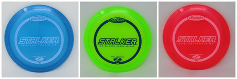 DISCRAFT Disc Golf Z STALKER  NEW   *pick weight/color*