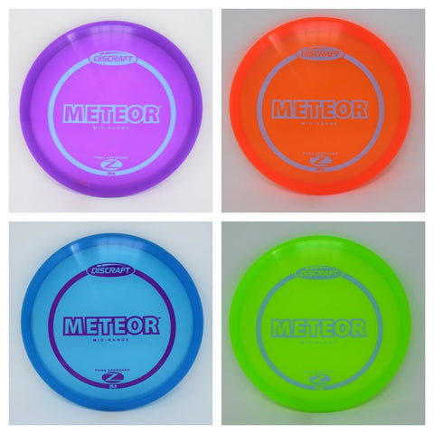 DISCRAFT Disc Golf Z METEOR  NEW   *pick weight/color*