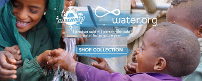 In partnership with Water.org
