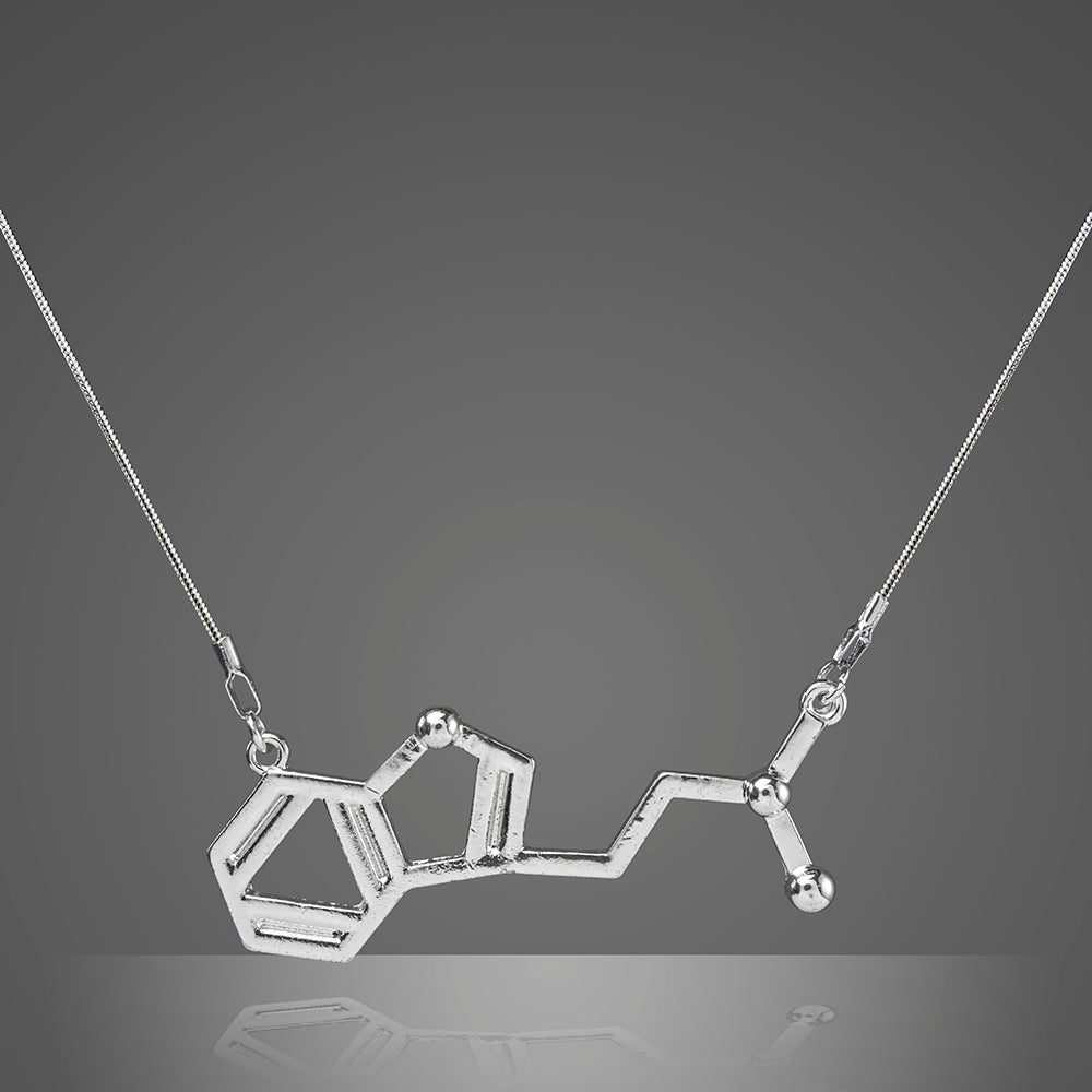 Dmt Science Molecule Necklace Chemistry Jewelry
