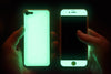 Mint / Neon  Red - Glow Gel iphone 7/8 Plus Case