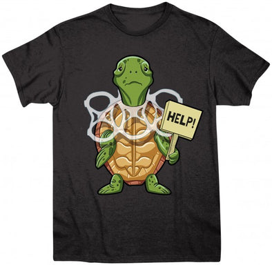 Turtle Help Short Sleeve T-Shirt