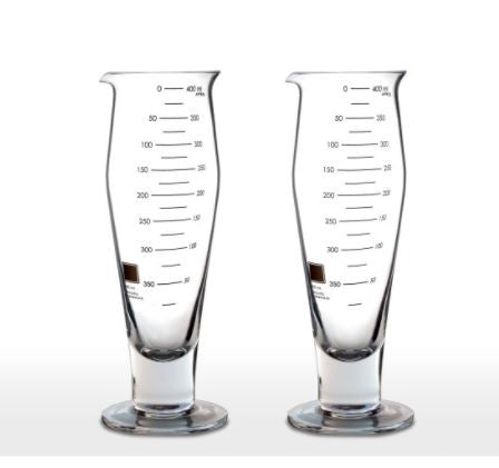 Laboratory Pilsner Beer Glasses - Set of 2