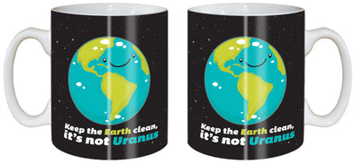 Keep the Earth Clean Classic Mug