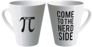 Come to the nerd side latte mug