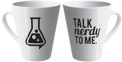 Talk nerdy to me latte mug