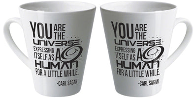 You are the universe latte mug