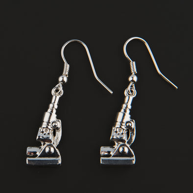Microscope Earrings