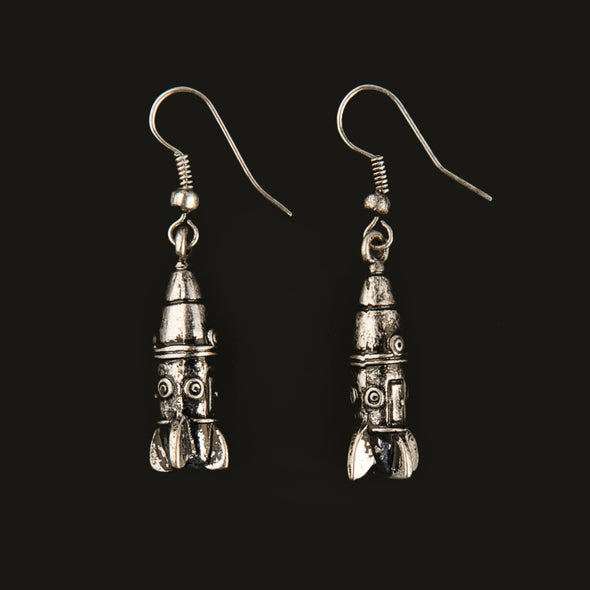 Rocketship Earrings