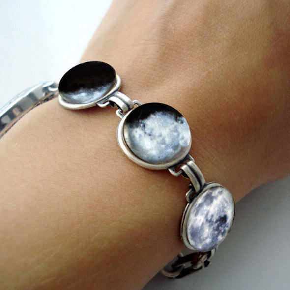 Moon Phase Bracelet With 7 Images