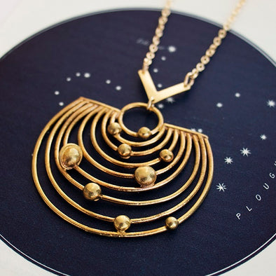 Pathways Solar System Planets Necklace