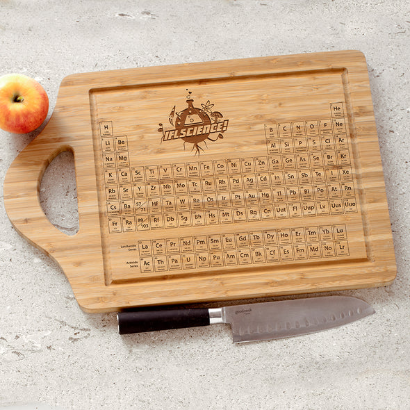 IFLScience Periodic Table Bamboo Board