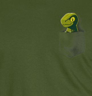Pocket Raptor T-shirt
