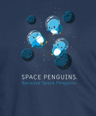 Space Penguins T-shirt