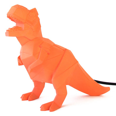 T-rex Orange Dinosaur Lamp